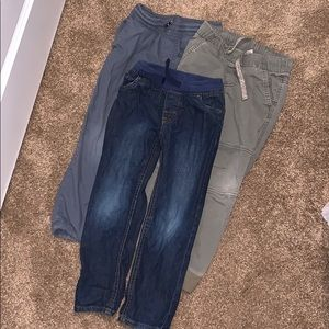 3 pairs of boys pants/jeans size 5